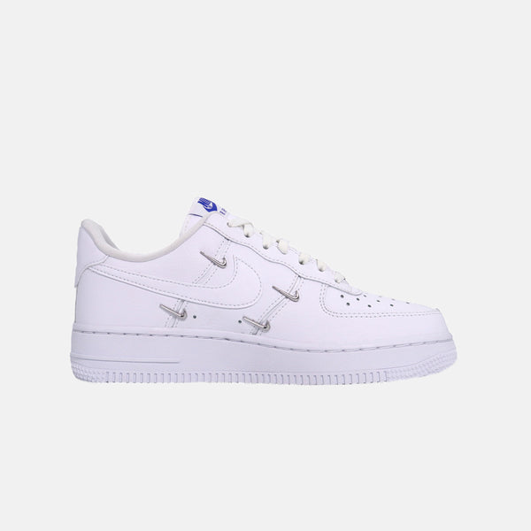 Womens Nike Air Force 1 '07 LX - White/hyper royal