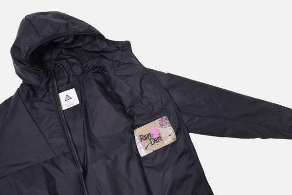 Womens Nike ACG Rope de Dope Packable Insulated Jacket - Black