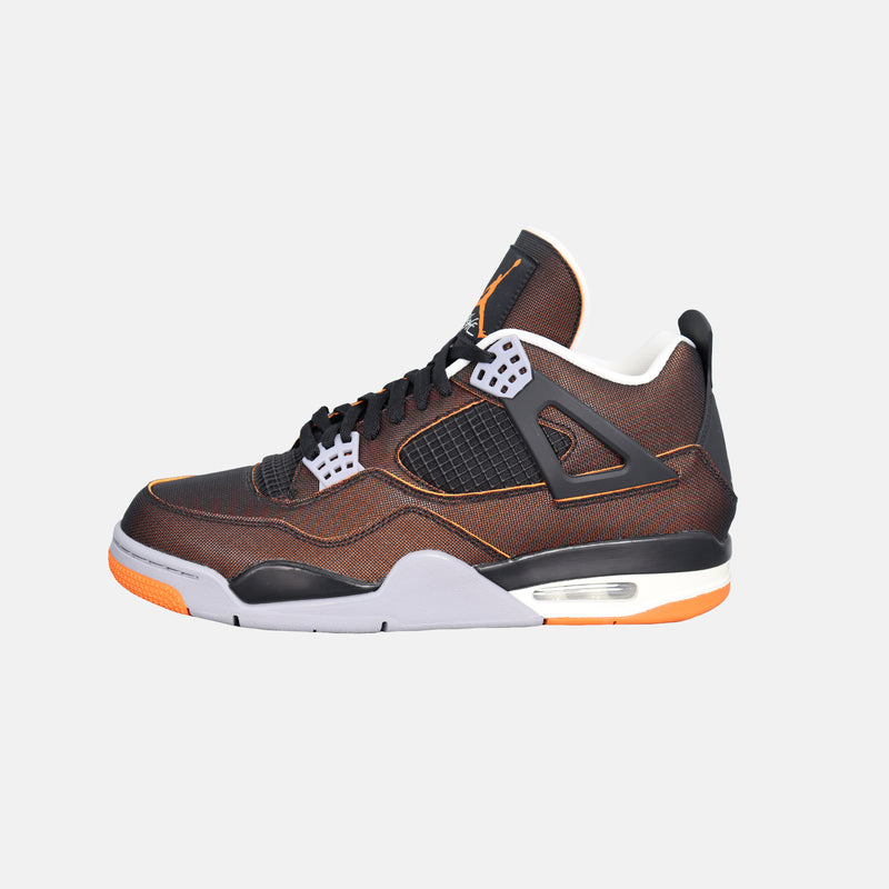 Womens Air Jordan 4 Retro SE - Sail / Black / Starfish