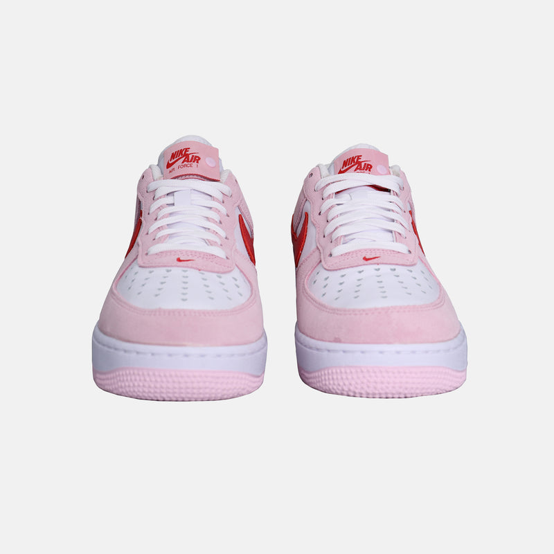 DripLA - Nike Air Force 1 '07 - Tulip Pink / University Red / White