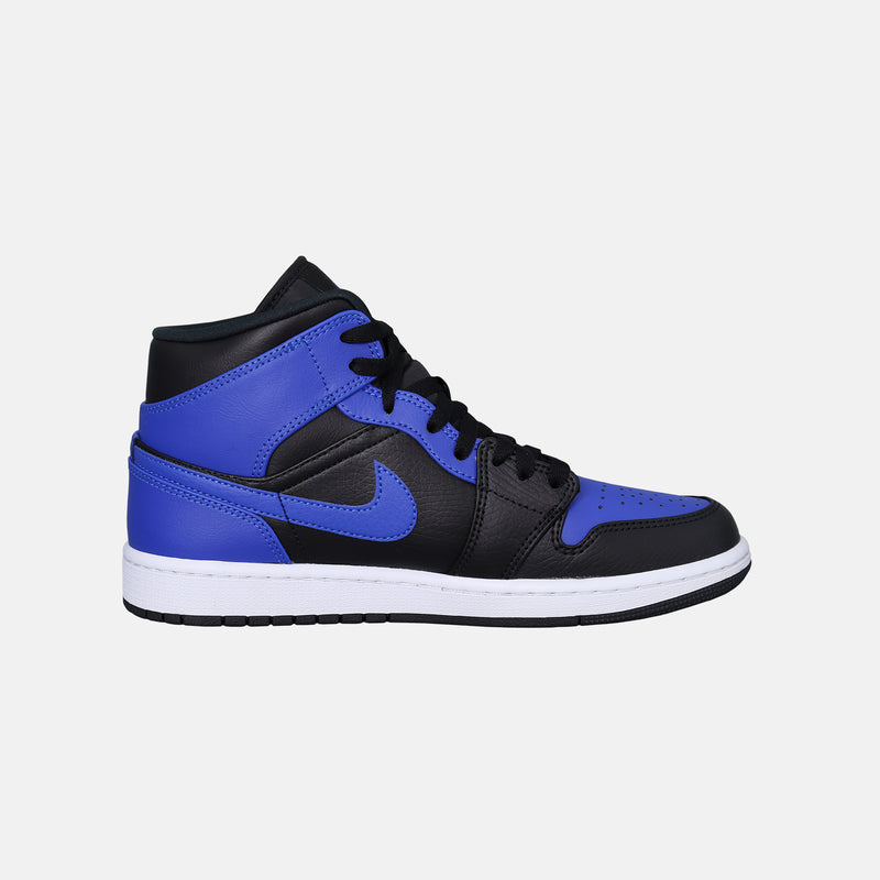 DripLA - Air Jordan 1 Mid - Black / Hyper Royal