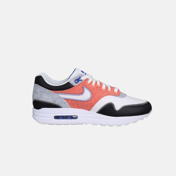 DripLA - Nike Air Max 1 - White / Game Royal / Black