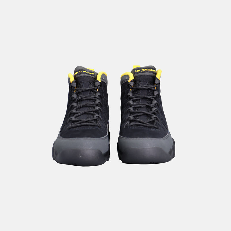 DripLA - Air Jordan 9 Retro GS - Dark Charcoal / University Gold