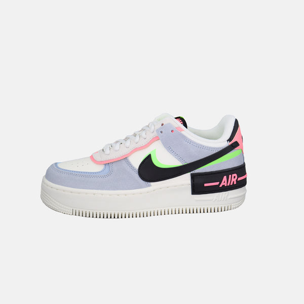 DripLA - Womens Nike AF1 Shadow - Sail / Black / Sunset Pulse