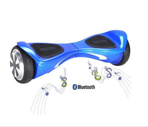 BLUETOOTH BLUE Smart Balance Wheel Self Balancing Electronic Scooter Drifting Board (FREE SHIPPING)