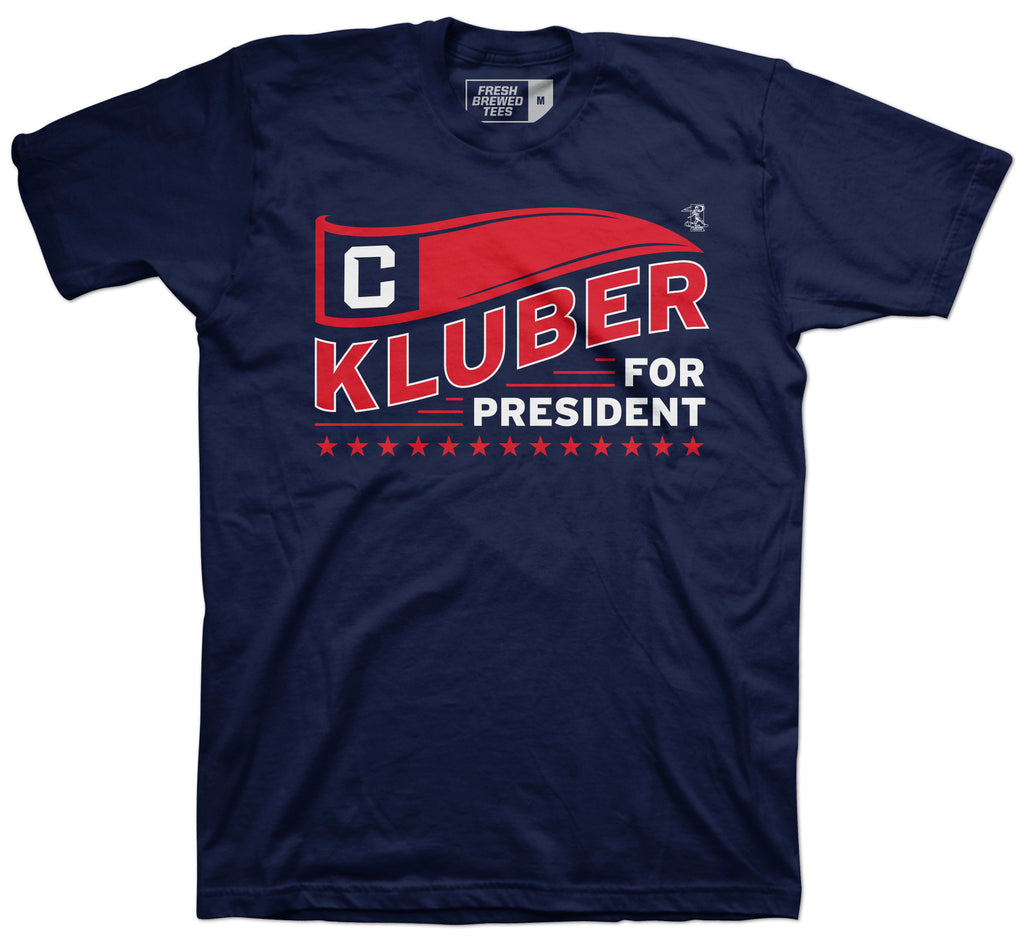 Corey Kluber For President T-Shirt