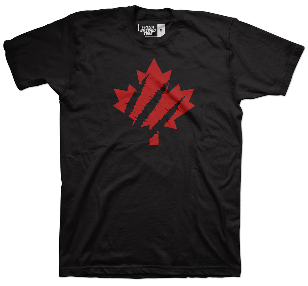 Toronto Slashed Maple Leaf T-Shirt
