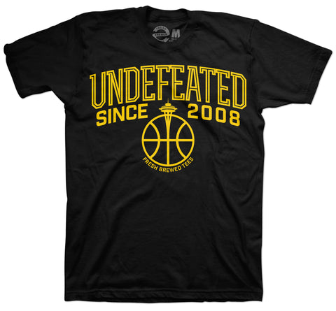 Undefeated Since 2008 Black T-Shirt