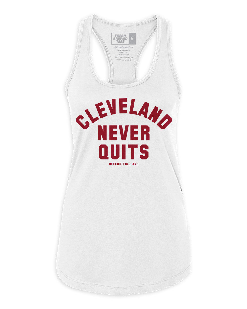 Cleveland Never Quits Ladies Tank