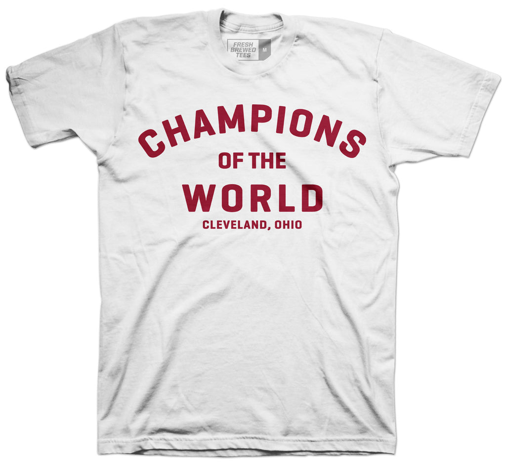 Champions of the World White T-shirt