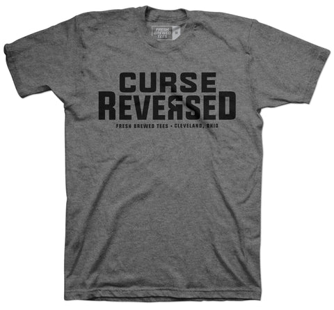 Curse Reversed Grey T-shirt