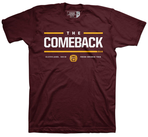 The Comeback Maroon T-shirt