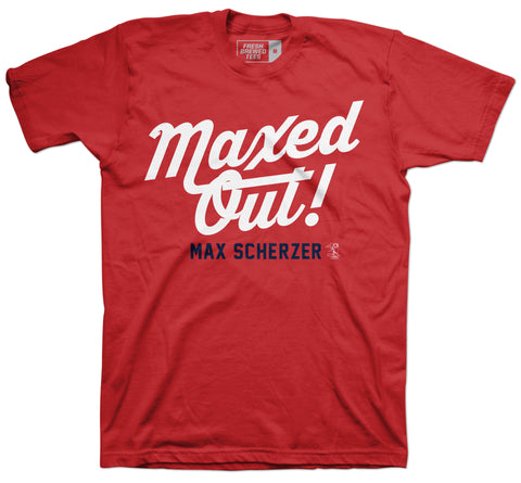 Max Scherzer Maxed Out T-Shirt