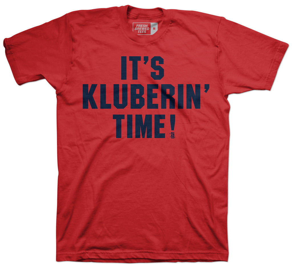 It's Corey Kluberin' Time T-Shirt
