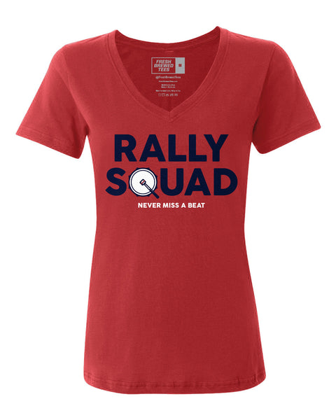 Cleveland Rally Squad Ladies V-neck