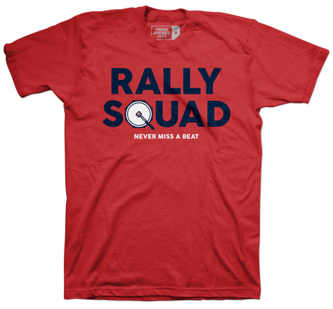 Cleveland Rally Squad Red T-Shirt