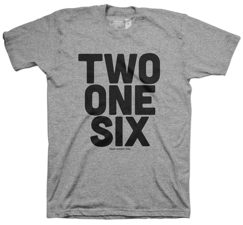 Two One Six Grey T-Shirt