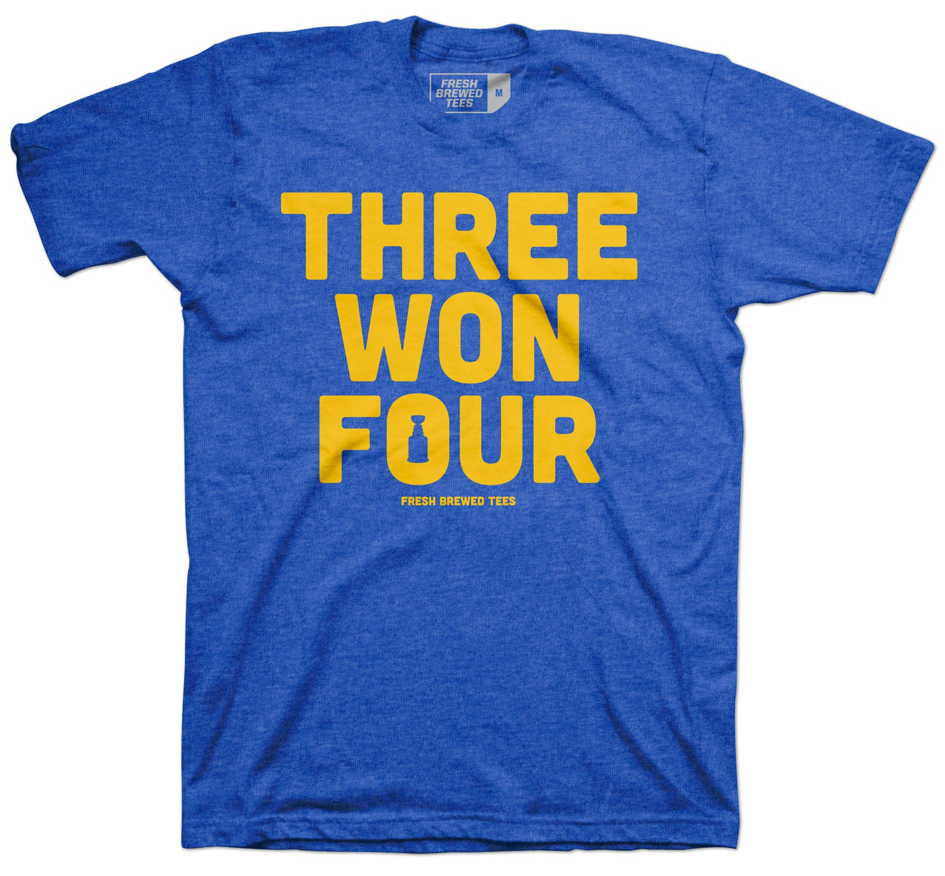 St. Louis Hockey Three Won Four Area Code T-shirt