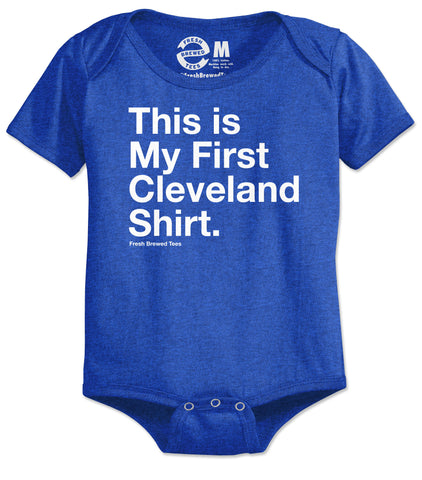 This is My First Cleveland Shirt