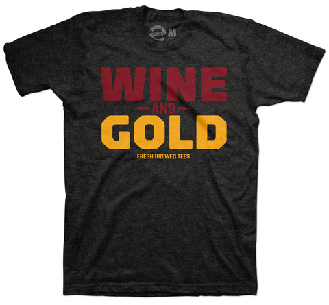 Wine & Gold T-Shirt