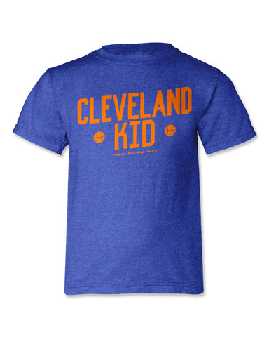 Cleveland Basketball Kid Youth T-Shirt