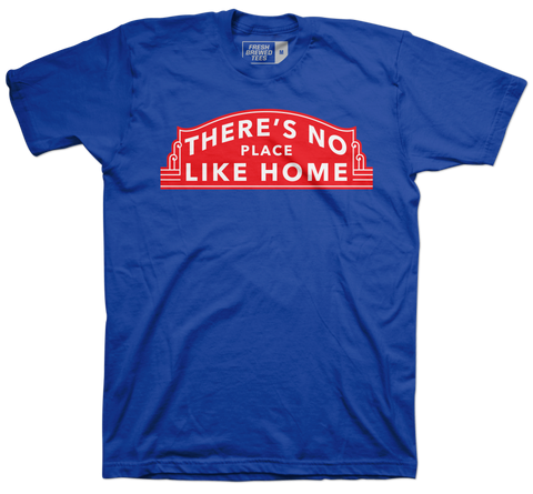 Chicago Baseball No Place Like Home T-shirt