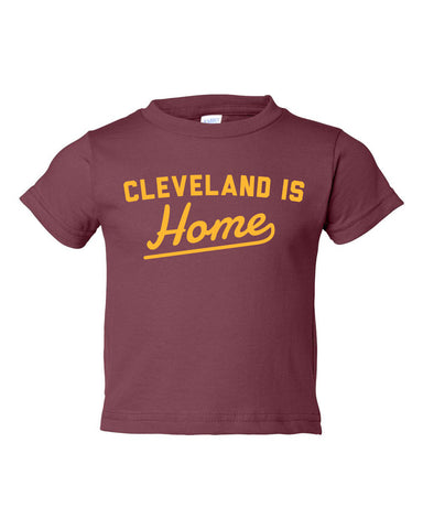 Cleveland is Home Toddler T-Shirt