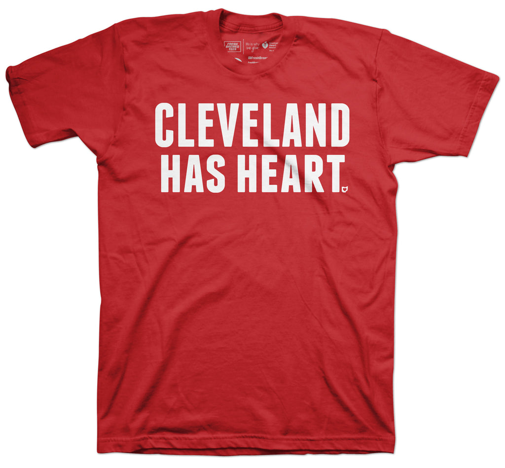 Cleveland Has Heart T-shirt