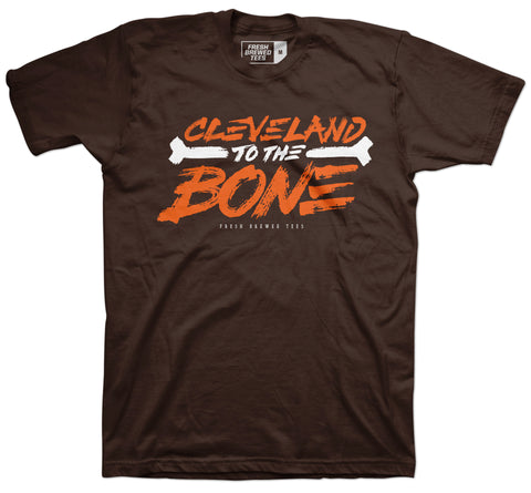 Cleveland to the Bone T-shirt