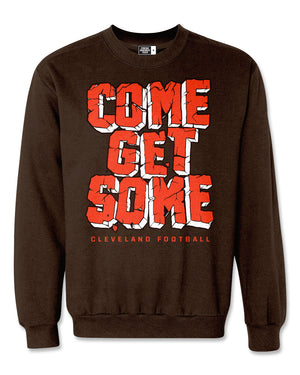 Come Get Some Cleveland Football Sweatshirt