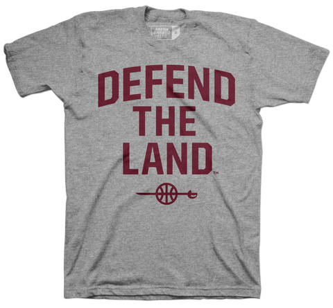 Defend the Land Sword Grey T-shirt