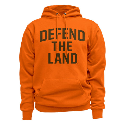 Defend the Land Orange Hoodie