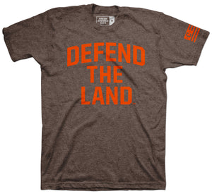 Defend The Land Brown T-shirt
