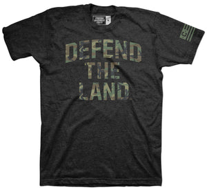 Defend the Land Camo T-Shirt