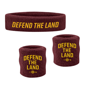 Defend the Land Sweatband Set