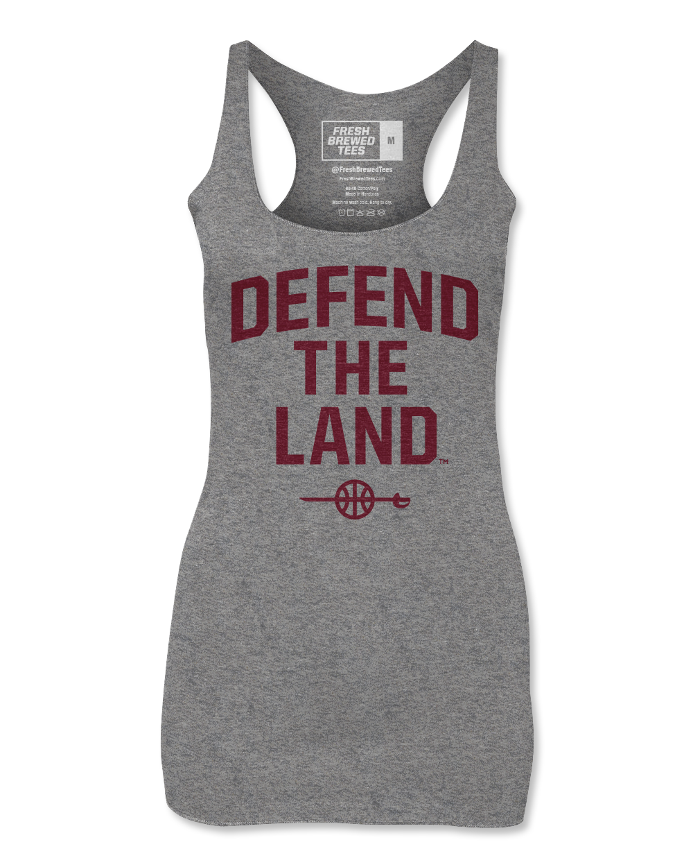 Defend the Land Sword Grey Ladies Tank
