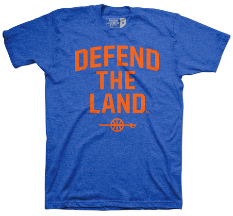Defend the Land Sword Hardwood T-shirt