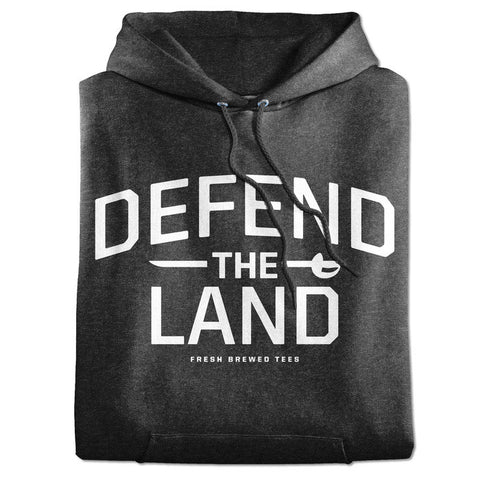 Defend the Land Cleveland Grey Hoodie