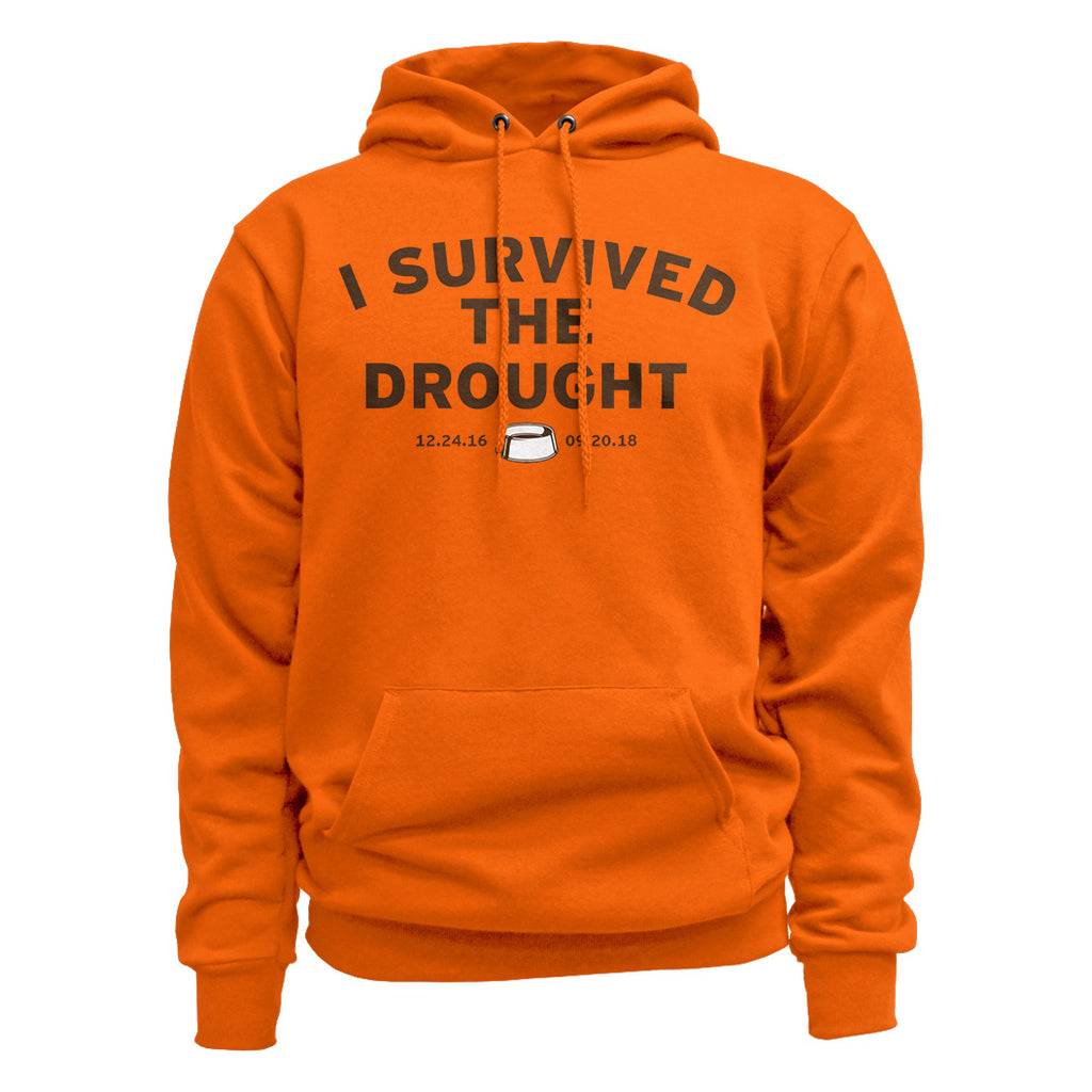 Cleveland Football I Survived the Drought Hoodie