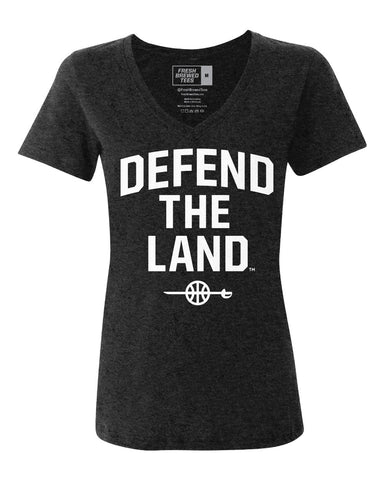 Defend the Land Sword Ladies V-neck