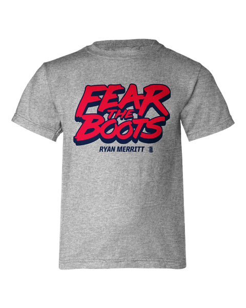 Ryan Merritt Fear The Boots Youth T-shirt