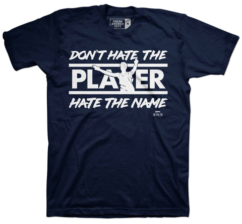 I Hate Christian Laettner Navy T-shirt