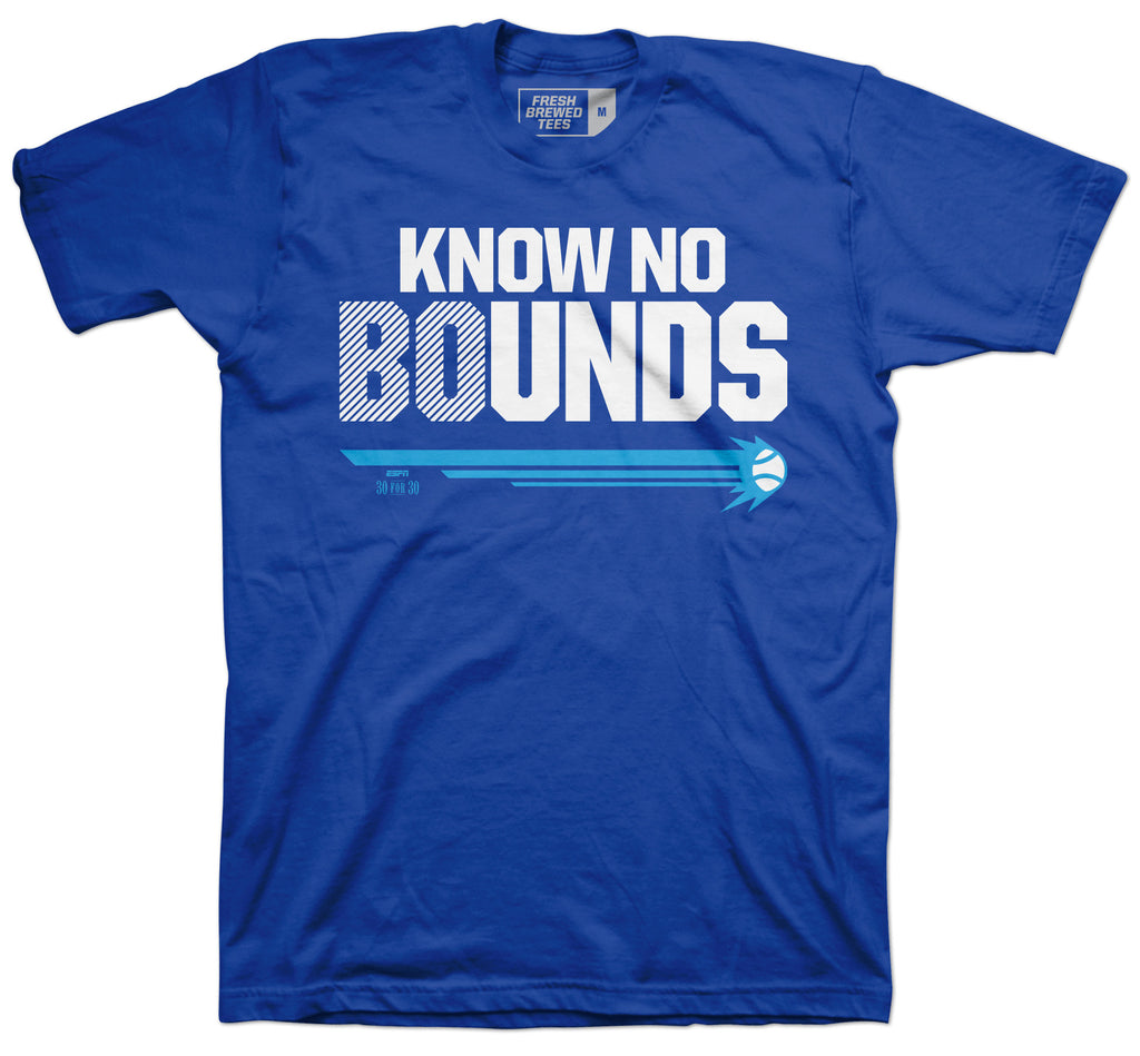 You Don't Know Bo Baseball T-shirt