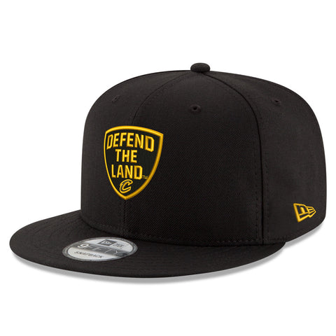 Defend the Land Black & Gold New Era Hat