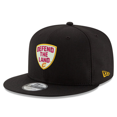 Defend the Land Wine & Gold New Era Hat