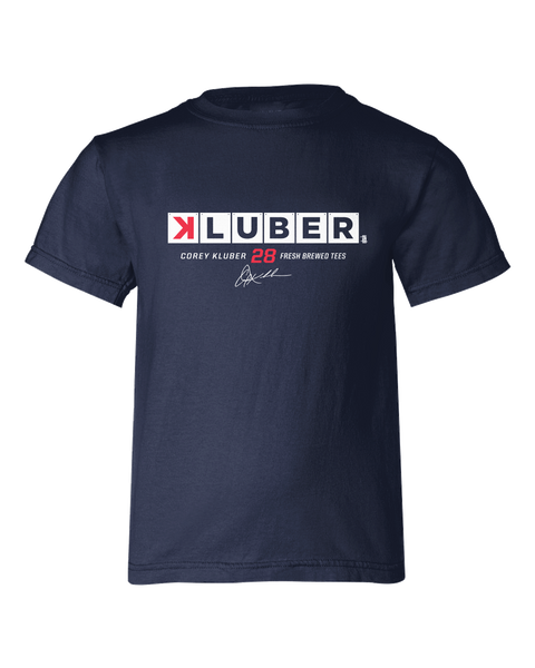 Corey Kluber Strikeout Youth T-shirt