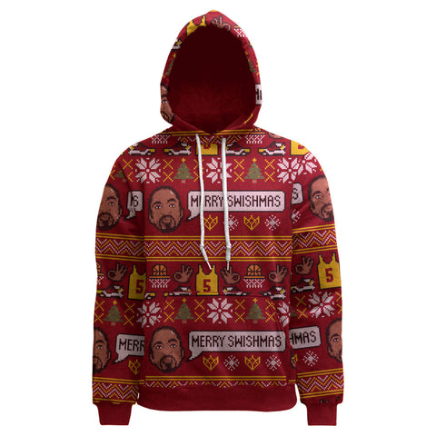 JR Smith Merry Swishmas Ugly Christmas Hoodie Official