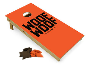 Woof Woof Cornhole Boards