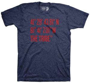 Coordinates The Tribe Navy T-Shirt