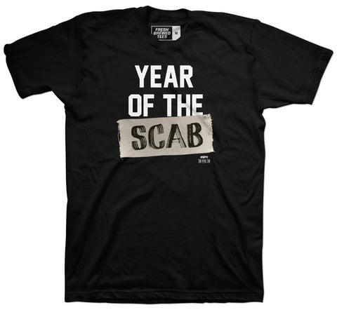 Year of the Scab T-shirt